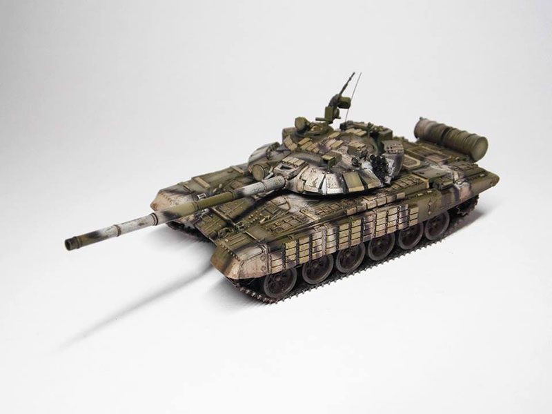 T-80UD, 1:72 Modelcollect, 07.2019