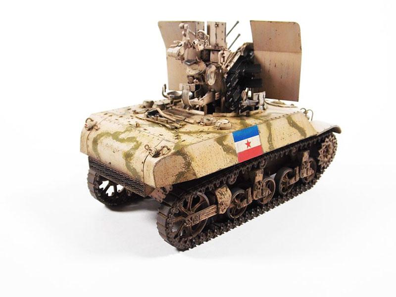 Yugoslav M3A3 w/Flak38, 1:35 Ding Hao, 05.2019