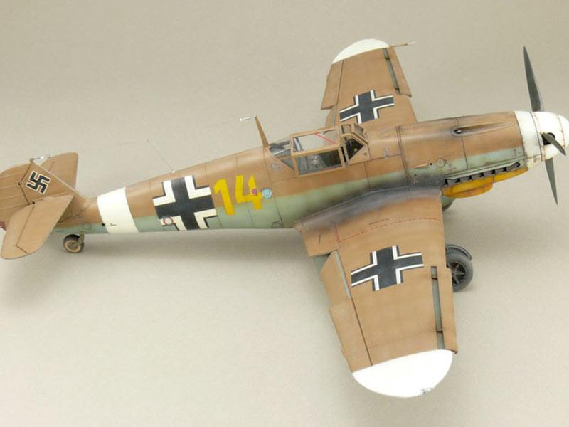 Bf-109 F-4/Z Trop