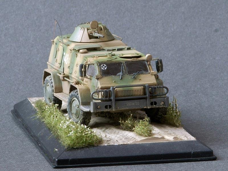 "GAZ-39371 ""Vodnik"" 1/72"