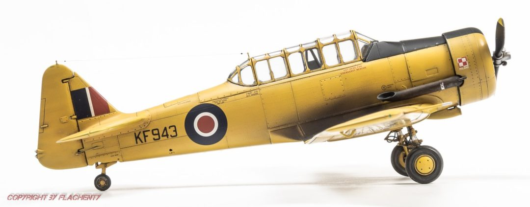 HARVARD Mk.IIB, 1:48 Italeri / Ocidental Replicas