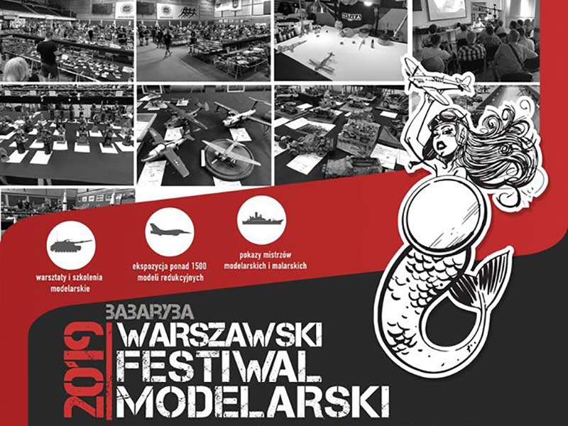 """Warszawski Festiwal Modelarski """"Babaryba 2019"""""""