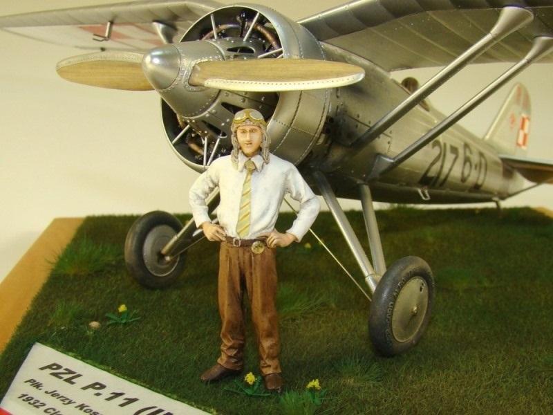 "PZL 11 III ""Cleveland"" 1932 skala 1/32"