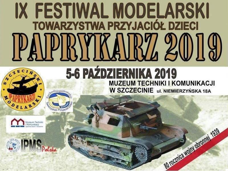"""Szczeciński Festiwal Modelarski """"Paprykarz"""" 2019"""