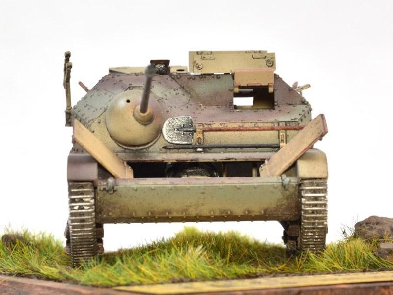 TKS w/NKM wz.38 FK-A, IBG Models 1/35