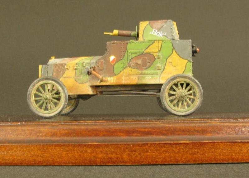 Samochód pancerny FORD Tfc, skala 1:35