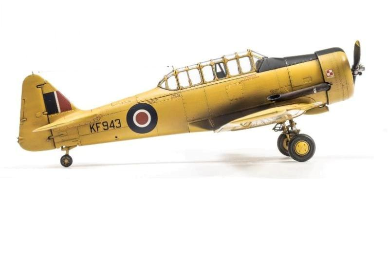 HARVARD Mk.IIB, 1:48 Italeri / Ocidental Replicas