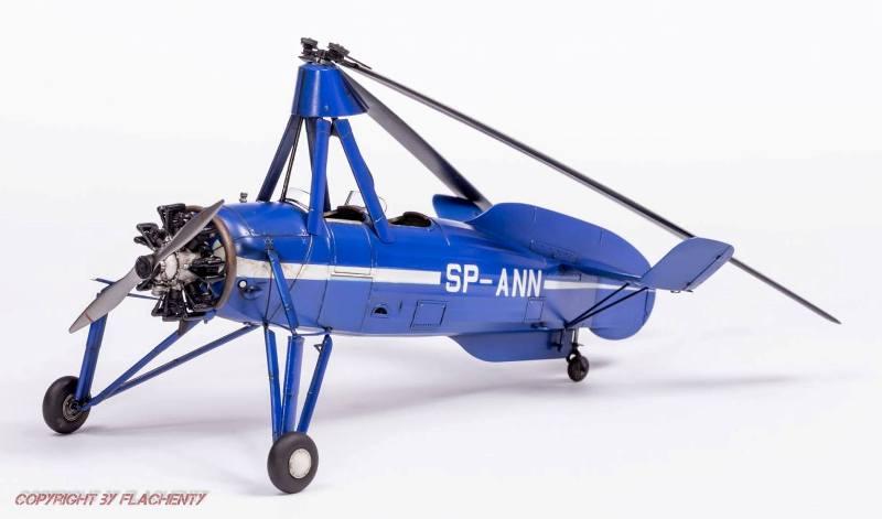 Cierva C.30A, Miniart, skala 1:35