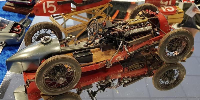 Fiat 806 Grand Prix, skala 1:12
