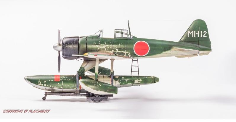 Nakajima A6M2-N Rufe, skala 1:48
