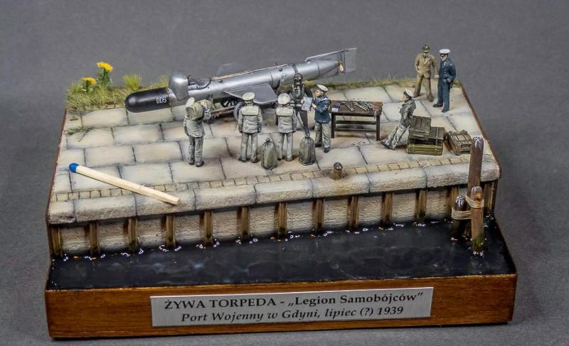 "Polska ""żywa torpeda"" 1939. Skala 1:72"