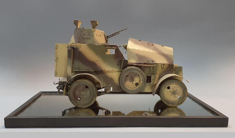 Polski samochód pancerny wz.34 II, skala 1:16
