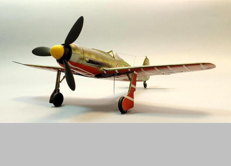Focke-Wulf 190 D-9, skala 1:48