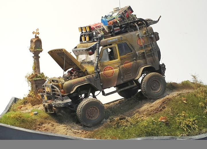 UAZ 469 Off Road, skala 1:35
