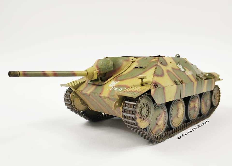 """Jagdpanzer 38(t) Hetzer – """"Chwat"""", Academy/Airfix, 1:35"""
