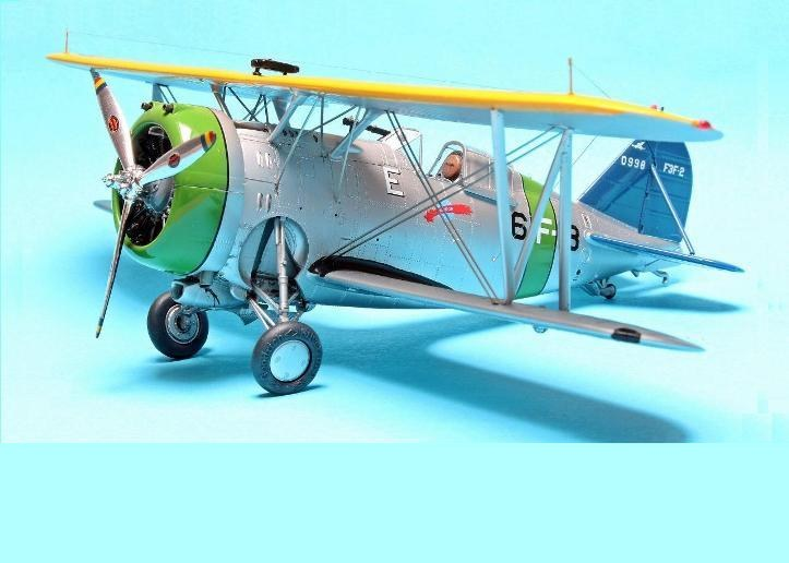 Grumman F3F-2, Accurate Miniatures, 1/48