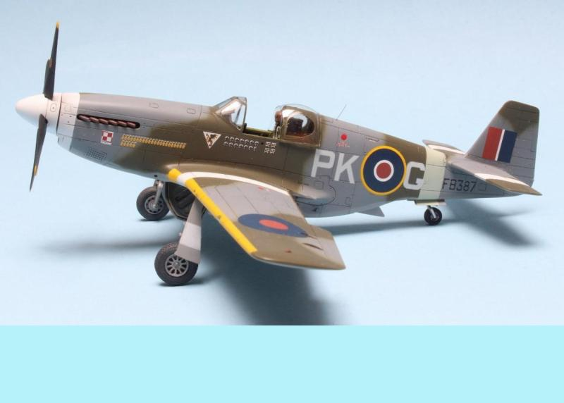North American P-51C Mustang MK.III, 1/72