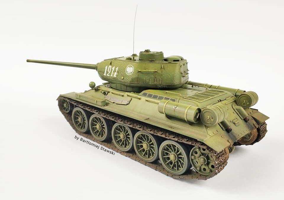 T-34-85, ICM, 1/35