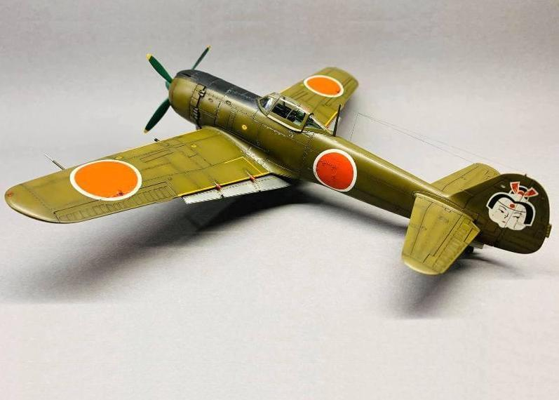 Ki 84-Ko HAYATE, Hasegawa, 1/48