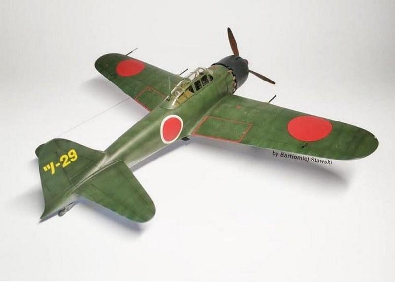 A6M5 Zero Fighter Type 52, Hasegawa, 1/48