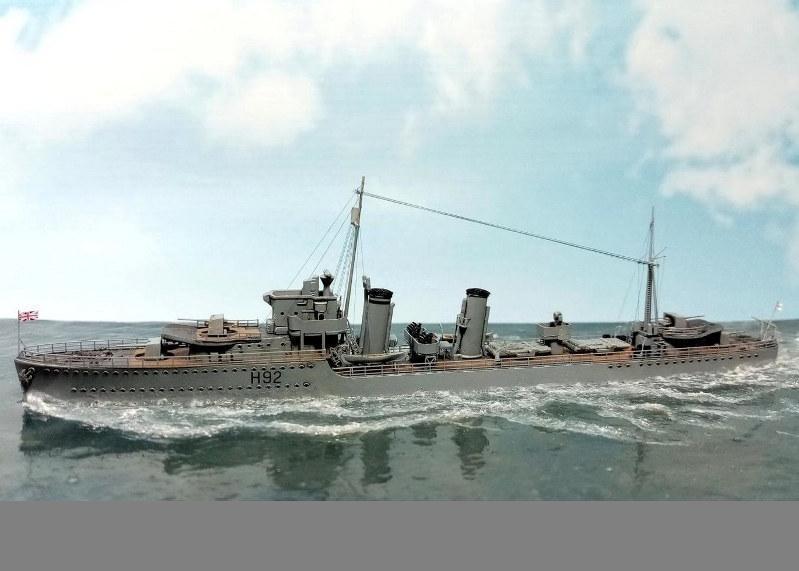 HMS Glowworm, IBG Models, 1/700