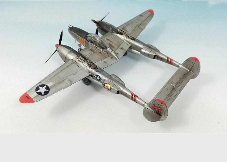 Lockheed P-38J Lightning, Dragon 1/72