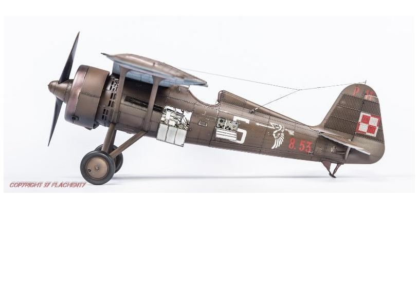 PZL P.11C, IBG, 1/32