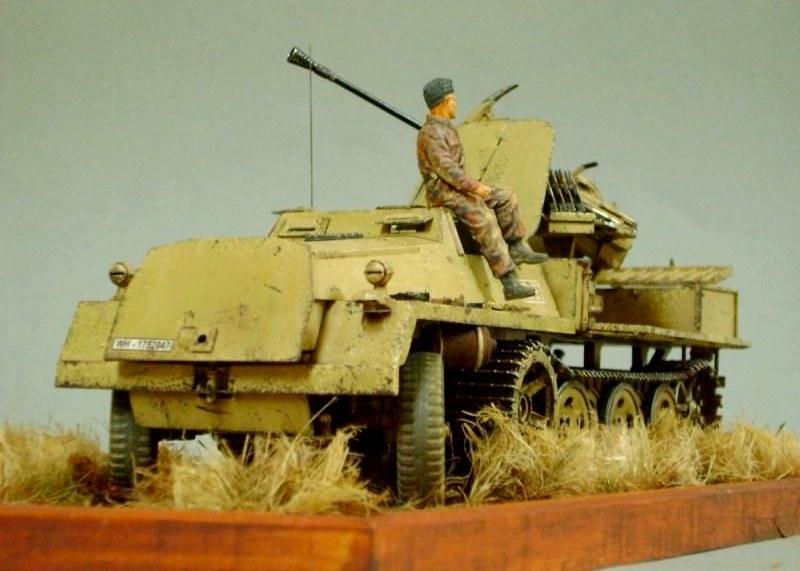 3,7 cm FlaK 43 auf SWS, GWH, 1/35