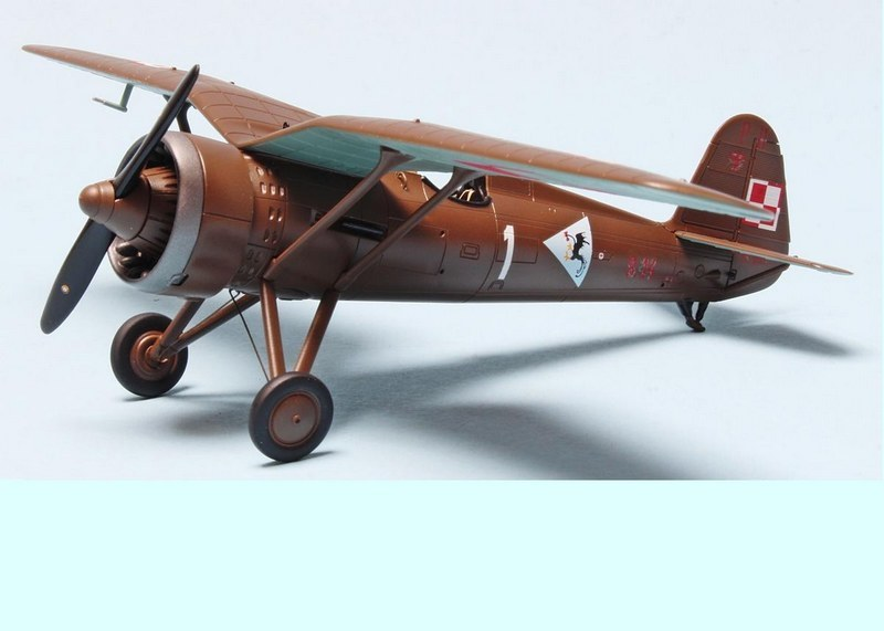 PZL P.11c, 11 Fighter Squadron 1936, Arma Hobby, 1/72
