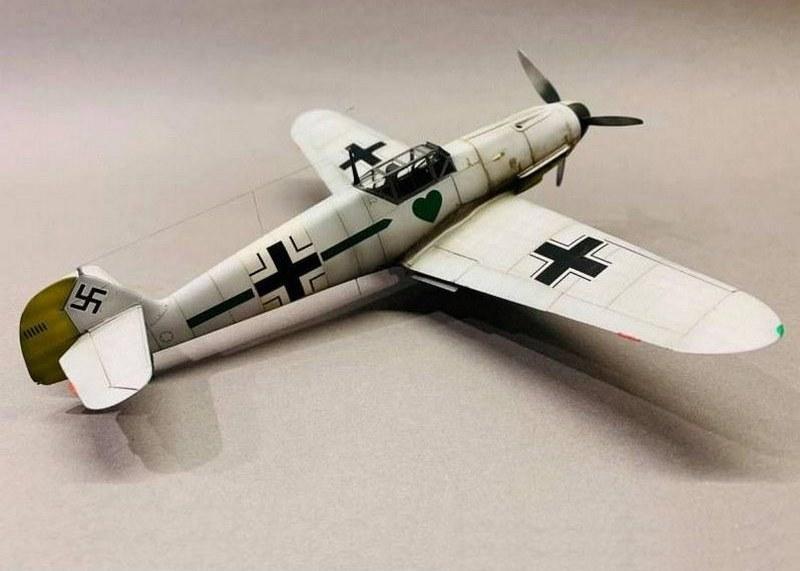 Me Bf 109 F-4, Eduard, 1/48