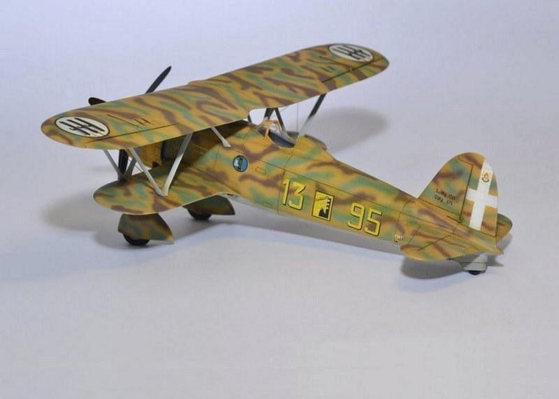 Fiat CR.42 Falco, Italeri, 1/48