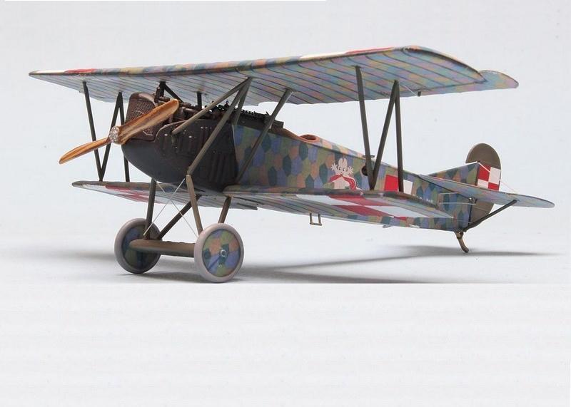 Fokker D.VII, Lawica Pilots' School 1920, Eduard, 1/72