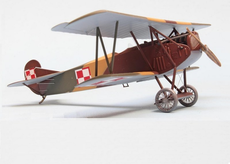Fokker D.VII, Bydgoszcz Flying School 1922-25, Eduard, 1/72