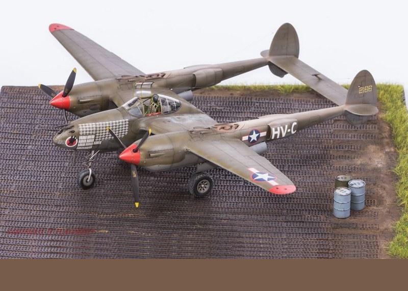 P-38F, Tamiya, 1/48