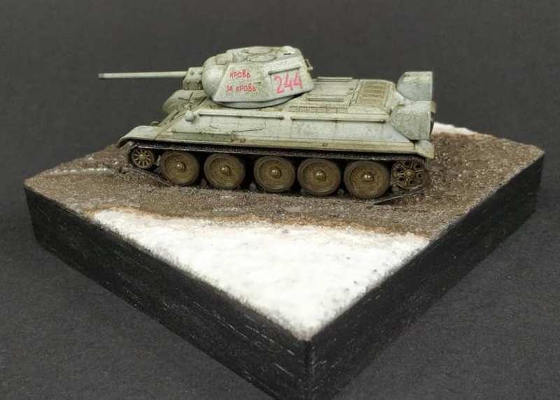 T-34-76, UM, 1/72