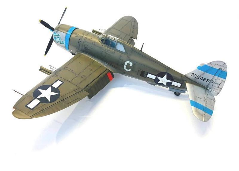 P-47D Thunderbolt, Tamiya, 1/48