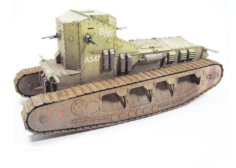 Medium Mark A Whippet, Meng 1:35