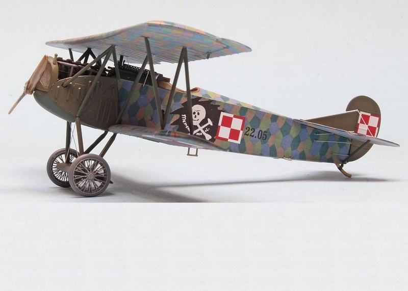 Fokker D.VII, 15th Fighter Squadron 1920, Eduard, 1/72