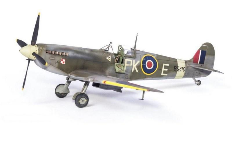 Supermarine Spitfire F.IXc, Eduard, 1/48