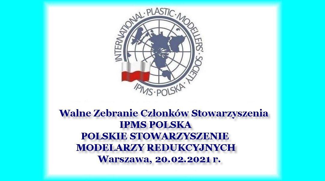 Walne Zebranie Członków Stowarzyszenia IPMS POLSKA, Warszawa 2021 (PL)