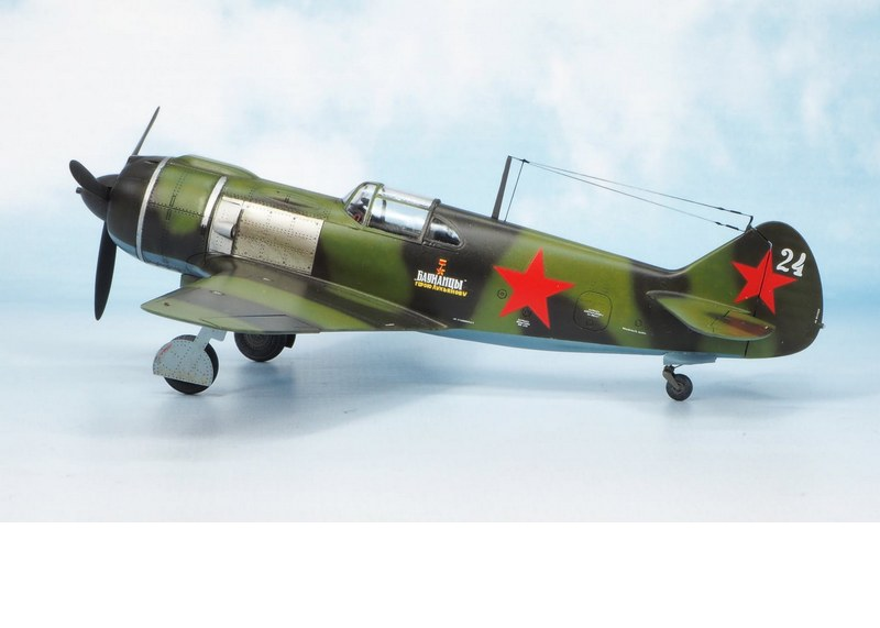Lavochkin La-5, Clearpropmodels, 1/72