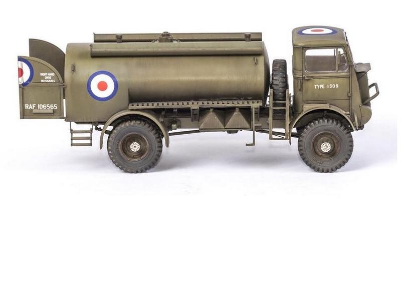 Bedford QL Tanker, IBG Models 1/35