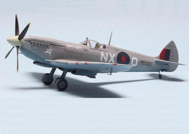 Spitfire HF MK.VII, Eduard 1/72