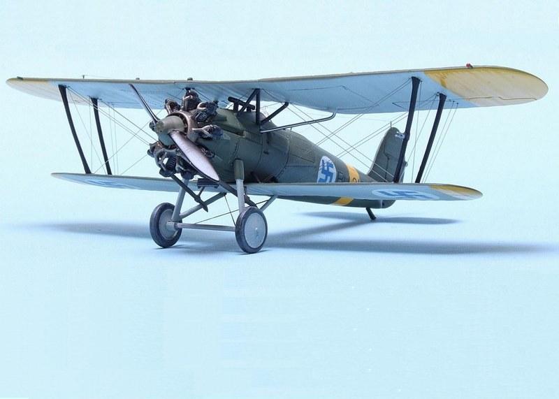 Bristol Bulldog MK.II Finnish Air Force 1942, Airfix 1/72