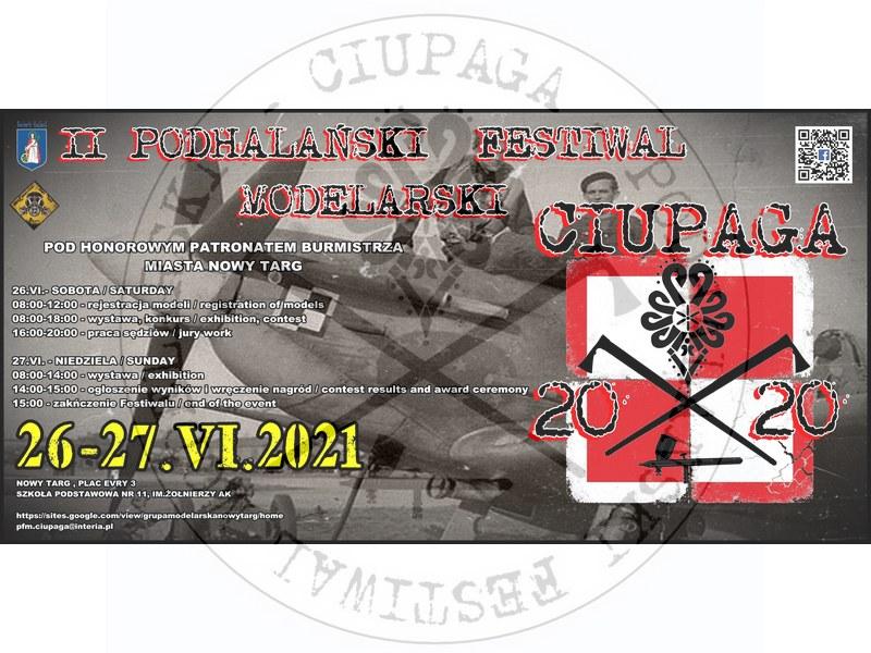 "II Podhalański Festiwal Modelarski ""Ciupaga"", Nowy Targ 26-27.06.2021"