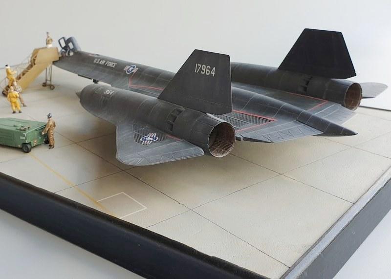 SR-71A Blackbird, Italeri 1/72