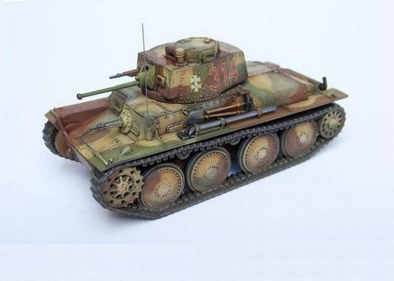 LT vz.38, First to Fight 1/72
