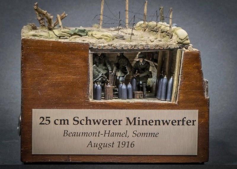 25 cm Schwerer Minenwerfer 1916, 1/72